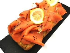 Ready Decorated Salmon Cake